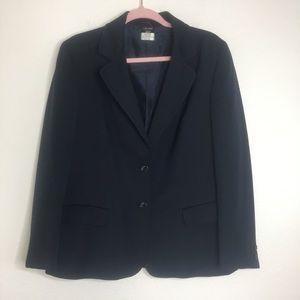 Celine Navy Wool Blazer Sz 46